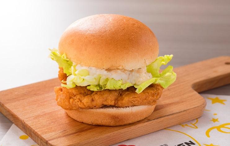 台湾チキンバーガー